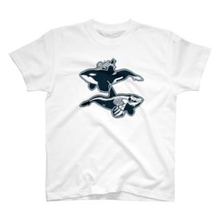 オルカライトハウス・スーベニールシンプル T-shirts