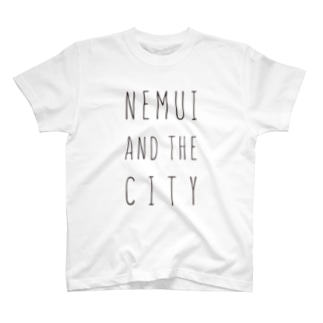 NEMUI AND THE CITY_BLACK T-shirts