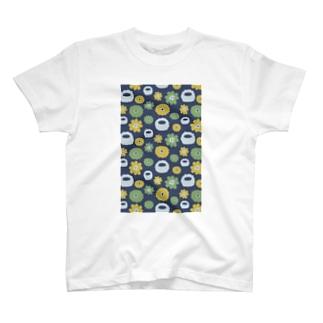 花畑のイエティ T-shirts