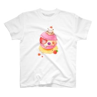 ポコポコマカロン T-shirts