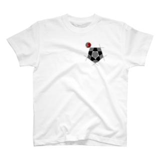 丸っこい角 T-shirts