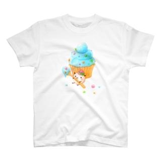 ポコポコカップケーキ T-shirts
