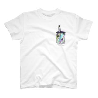 牛乳ビンのマモノ(タピオカ) T-shirts