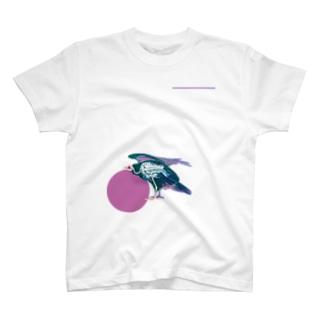 ヒメコンドルのホネ T-shirts