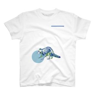 アライグマのホネ T-shirts
