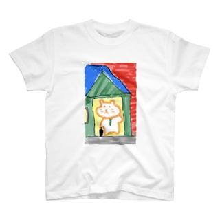 ハムスターサラリーマン お家に帰る T-shirts