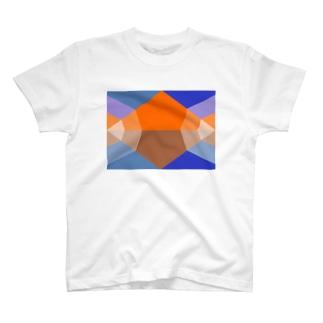朝焼けの山 T-shirts
