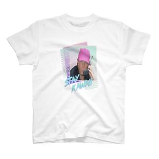 ピンクキャップ T-shirts