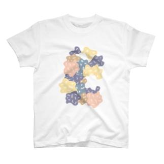 ふわふわ ちゃきちゃき T-shirts