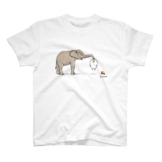 ぞうさんとあのとり。 T-shirts