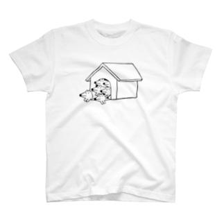 ハウスなウルフくん T-shirts