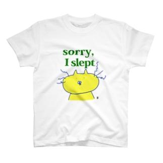 ごめん寝てた T-shirts