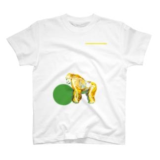 ニシゴリラのホネ T-shirts