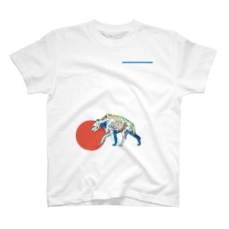 ブチハイエナのホネ T-shirts