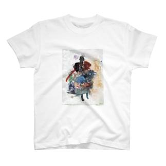 (front)ひと(back)いろ T-shirts