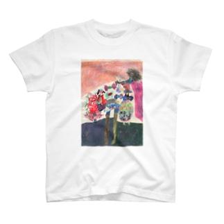 (frontのみ)ひと T-shirts