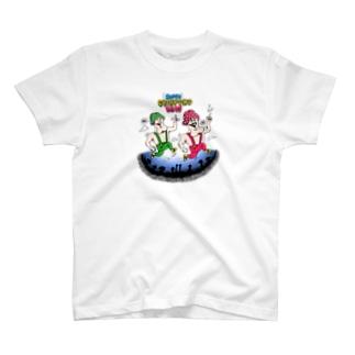 スーパーちんぽこブラザーズ カラー T-shirts