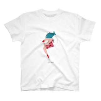 鮭 サーモンくん T-shirts