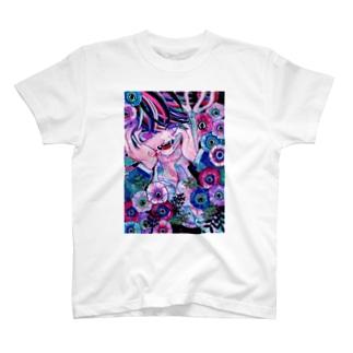 一途なアネモネ T-shirts