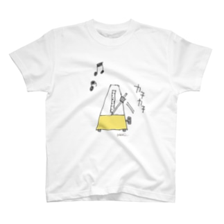 """メトロノーム""""カチカチ"""" T-shirts"""