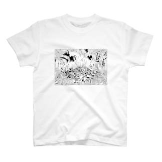 きらきらやさんのキャンプファイヤー T-shirts