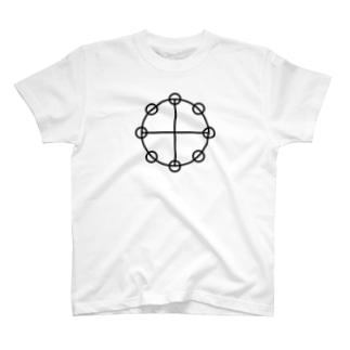 カタカムナーヤタノカガミ T-shirts