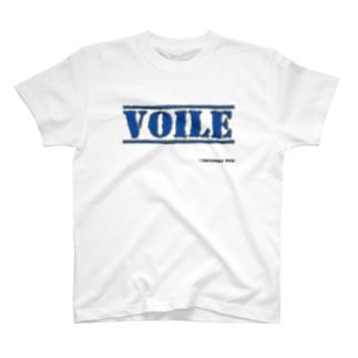 高島ベースーVOILE T-shirts
