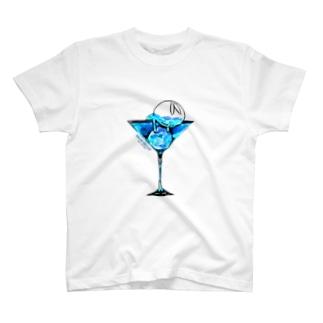 クレイジー闇うさぎ(Blue Moon) T-shirts