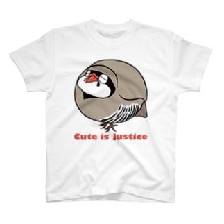 イワシャコの存在が正義 T-shirts