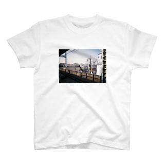 どっかの駅 T-shirts
