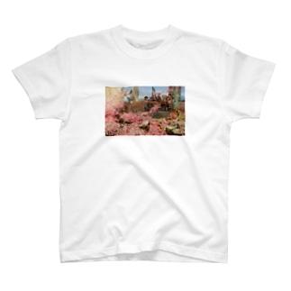 バラで死ぬ T-shirts