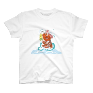 跳ね金魚 T-shirts