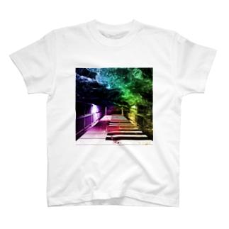 非現実的空間【Piano】 T-shirts