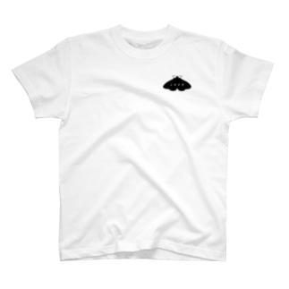 イボタガ【バックプリント】 T-shirts