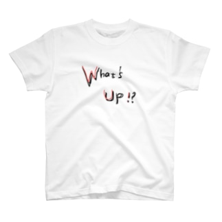 What's Up!? RED T-shirts