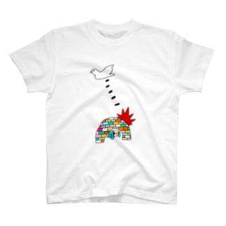 BOMB & PEACE T-shirts