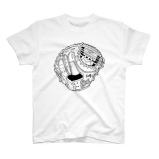 グローブ(捕手用) T-shirts