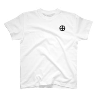 鹿児島 照国神社 ラブホテル 薩摩十字 T-shirts