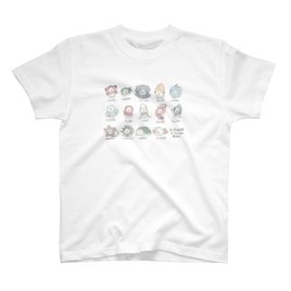 海のもさおたち T-shirts