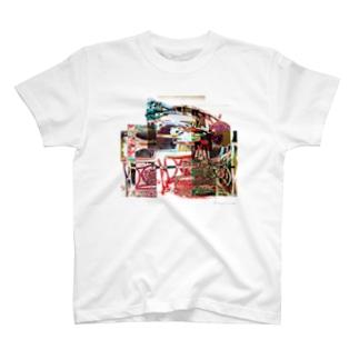 再構成~棄てられたミシン2 マルチカラー T-shirts