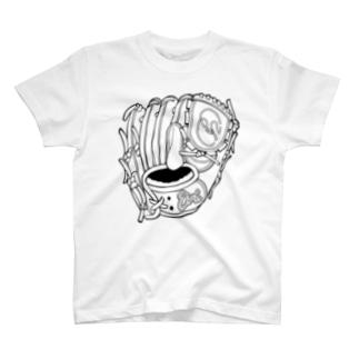 グローブ(投手用) T-shirts