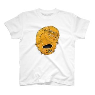 グローブ(一塁手用)カラー T-shirts