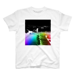 Akroworksの非現実的空間【徳島県内某所-01】 T-shirts