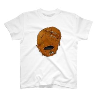 グローブ(一塁手用)カラー2 T-shirts