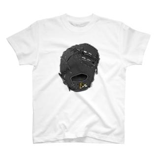 グローブ(一塁手用)カラー3 T-shirts