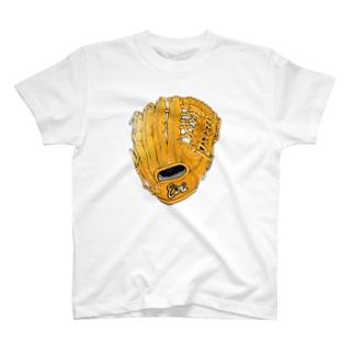 グローブ(外野手用)カラー T-shirts