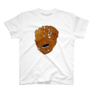 グローブ(外野手用)カラー2 T-shirts