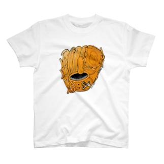 グローブ(投手用)カラー T-shirts