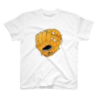 グローブ(内野手用)カラー T-shirts