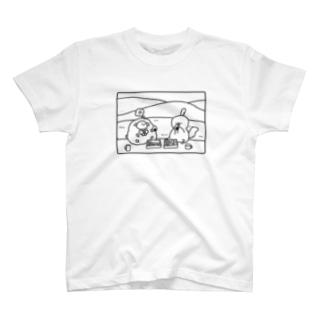 【トクオカ×もふふコラボ】仲良しピクニック T-shirts